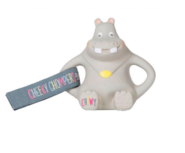 Teething problems solved with Cheeky Chompers (and a giveaway!)