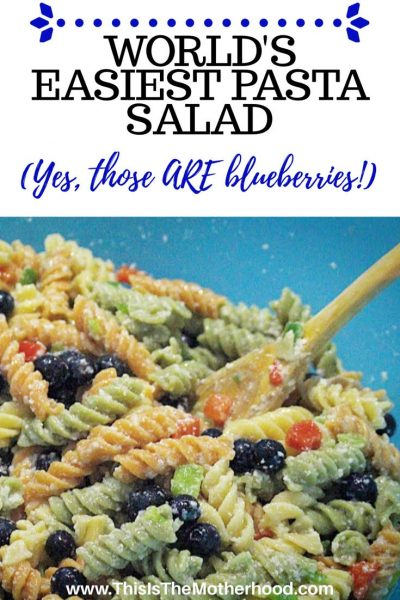 The best pasta salad ever!