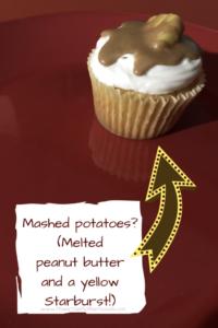 potato cupcake