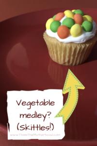 vegetable cupcake