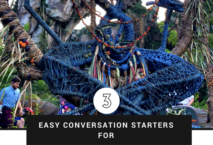 Three Easy Conversation Starters For Parents and Kids at Disney's Pandora- World of Avatar