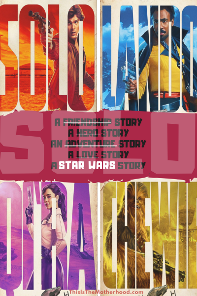 Solo: A Star Wars Story GIVEAWAY!