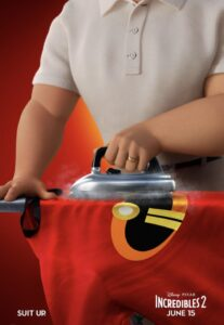 Mr Incredible ironing