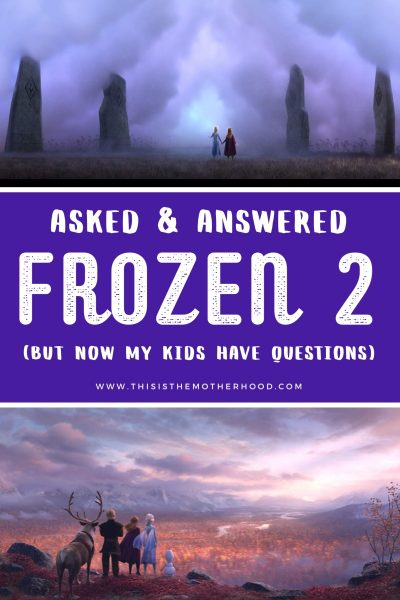 Frozen 2: Old questions answered, tougher questions asked (no spoilers)