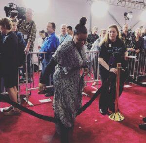 Yvette Nicole Brown red carpet