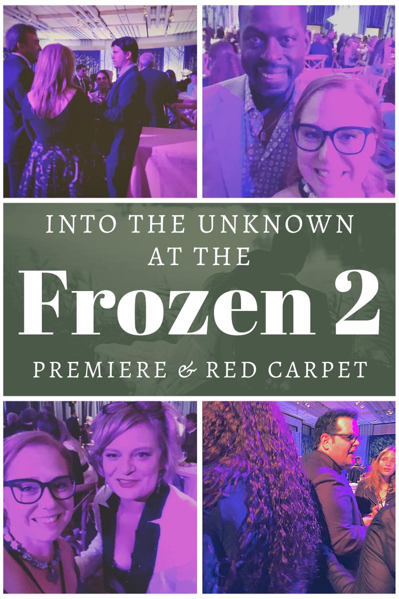 Red Carpet Frozen