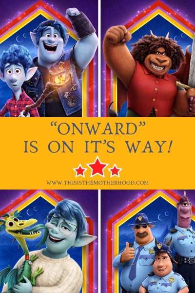 """""""Onward"""" is on it's way and a new trailer is here!"""