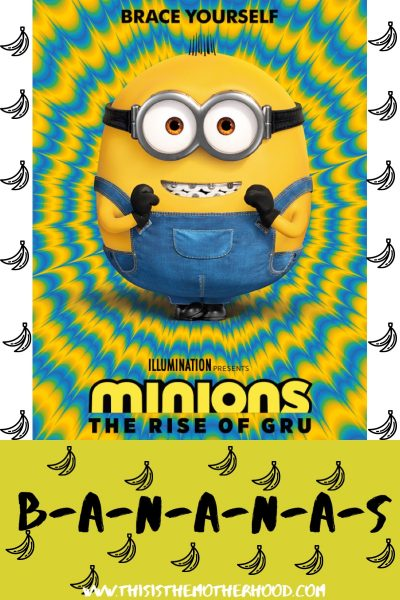 Minions: The Rise Of Gru is on it's way!